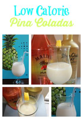 Low Calorie Pina Coladas
