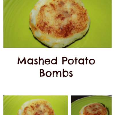 Mashed Potato Bombs