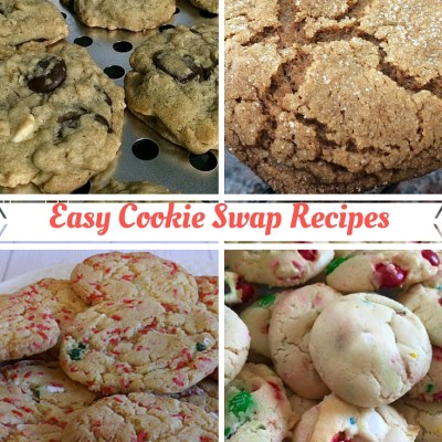 Easy Cookie Swap Recipes