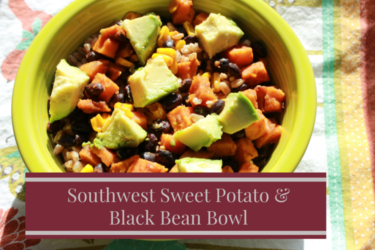 These flavorful southwest sweet potato and black bean tacos are a perfect lunch or dinner option.