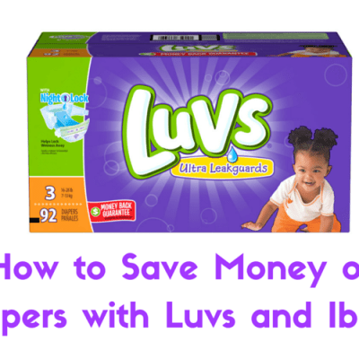 How to Save Money on Diapers with Luvs and Ibotta