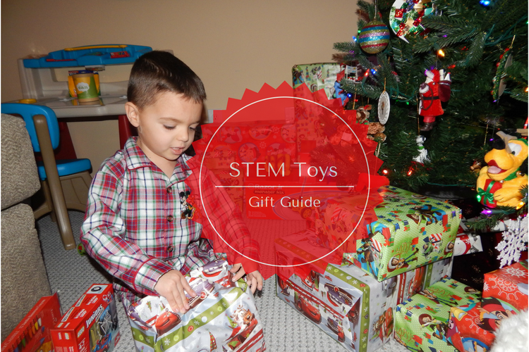 STEM toys are a fun way to introduce kids to science, technology, math and engineering. Kids will learn through play with STEM toys.