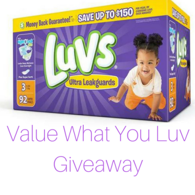 Value What U Luv {Giveaway}