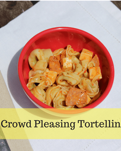 Easy Crowd Pleasing Tortellini Salad: A Summer Side Dish