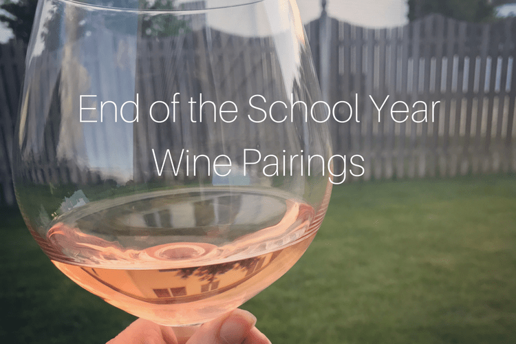 school year wine pairings