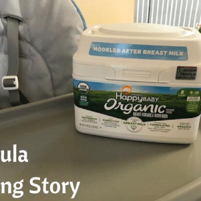 Our Formula Feeding Story