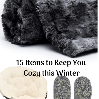 15+ Items to Keep You Cozy this Winter