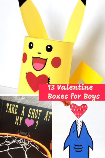 Valentines Boxes for boys