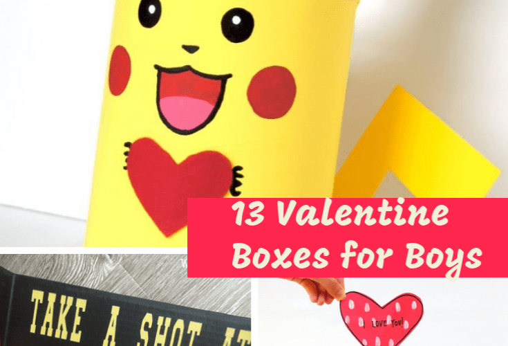 13 Valentine Boxes for Boys