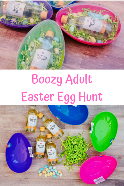 how to do an adult easter egg hunt