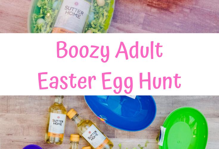 Boozy Adult Easter Egg Hunt