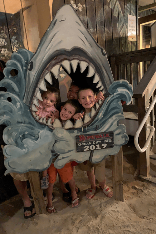 Family Friendly dining in Ocean City Maryland