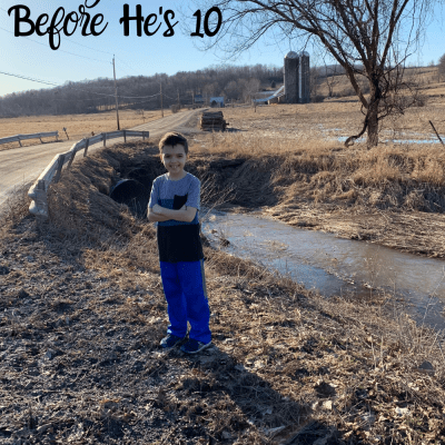 100 Things to Do with Your Son Before He's Ten