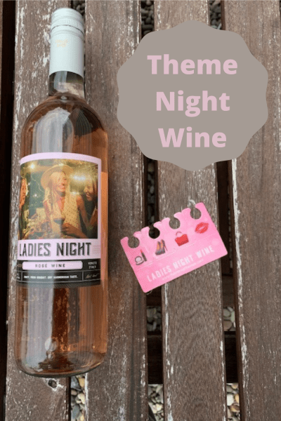Theme night wines