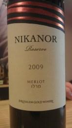 2009 Nikanor Merlot, Reserve