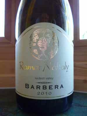 2010 Ramat Naftaly Barbera