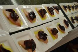 Japanese Hamachi, Beets, Citrus, Olive Oil