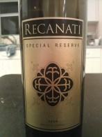 2006 Recanati Special Reserve