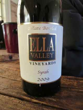 2009 Ella Valley Syrah