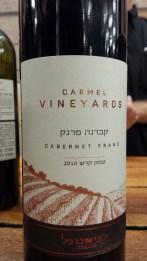 2010 Carmel Cabernet Franc, Vineyards