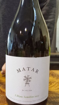 2013 Matar Sauvignon Blanc and Semillon