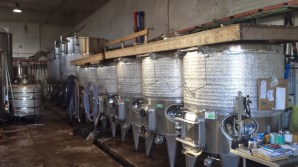 Pelter Winery Tanks
