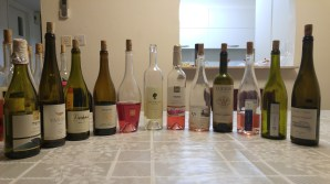 Best of the second tasting - 2015 Ramat Negev Rose (yeah it was good), 2015 Lueria Pinot Grigio, 2015 Vitkin Rose, 2015 Vitkin Grenache Blanc, and 2014 Carmel Riesling, Kayoumi (best wine of the night)