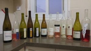 Great wines! 2014 Carmel Riesling - best of the night, 2015 Vitkin Rose, 2015 Vitkin Grenache Blanc, (another two great winners), 2015 Vitkin Riesling, 2015 Vitkin Israeli Journey (these two are OK), 2015 Recanati Special Edition White