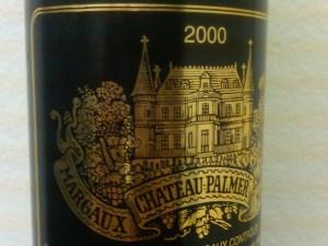 Chateau Palmer, Margaux 2000