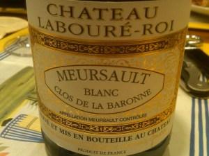 Domaine Laboure-Roi Meursault Clos du la Baronne 2007 #1