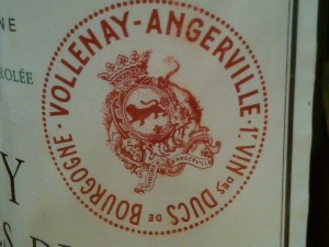d'Angerville Volnay Ducs 1990 #1