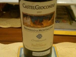 Frescobaldi Brunello 1997 #3