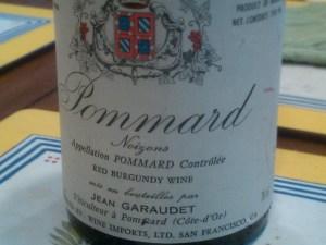 Jean Garaudet Pommard Noizons 1990 #1