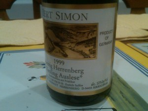 Bert Simon Auslese 1999 #1