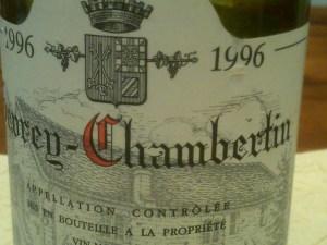 Claude Dugat Gevrey-Chambertin 1996 #4