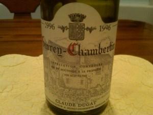 Claude Dugat Gevrey-Chambertin 1996