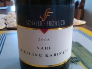Schafer Frohlich Kabinett 2008 #2