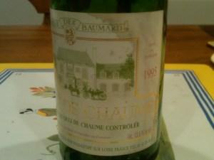Baumard Chaume 1995