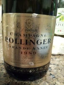 Bollinger Grande Annee 1989
