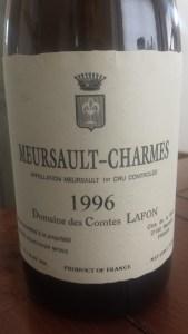 Lafon Charmes 1996 #1