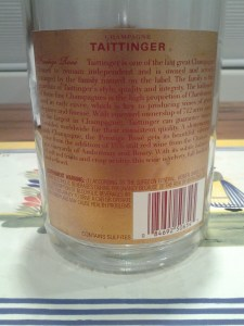 Taittinger Rose Prestige NV #2
