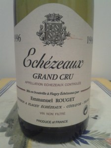 Rouget Echezeaux 1996 #7