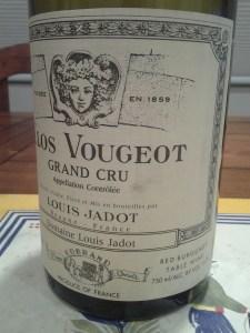 Jadot Clos Vougeot 1998 #1