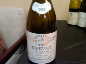 Mugneret Echezeaux 2008 #1