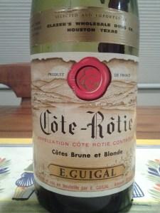 Guigal Cote Rotie Brune et Blonde #1