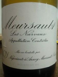 Leroy Meursault Narvaux 1996 #1