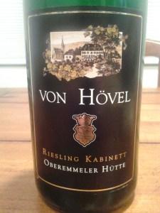 Von Hovel Kabinett 2012 #1