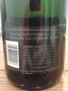 Laurent Perrier Vintage Brut 1999 #2