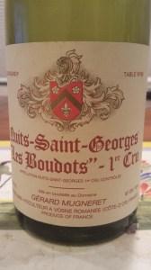G. Mugneret Nuits Boudots 1999 #1