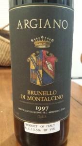 Argiano Brunello 1997 #1